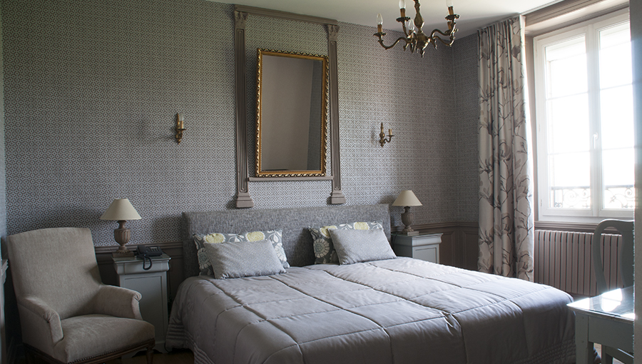 Chambre de style - Hotel de l'Europe Pontivy Morbihan Bretagne