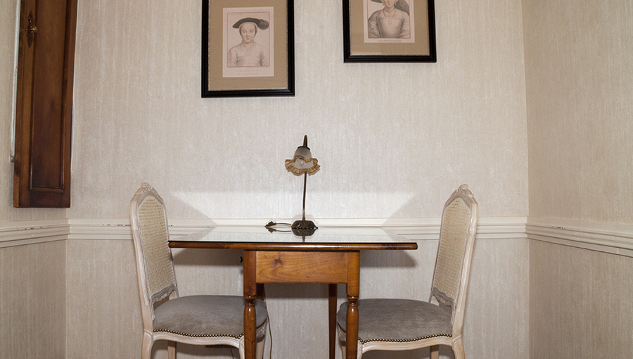 La chambre romantique - Hotel de l'Europe Pontivy Morbihan Bretagne