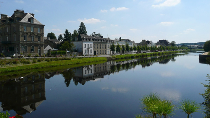 Pontivy, a town of history